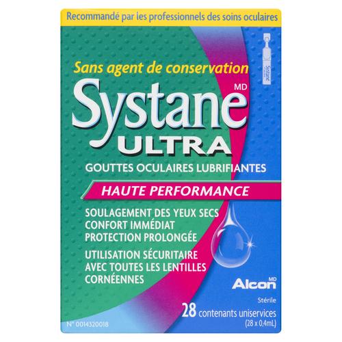 Systane Eye Drops Ultra Lubricant 11.28 ml