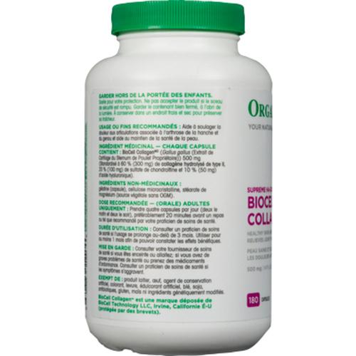 Organika BioCell Collagen 180 Capsules
