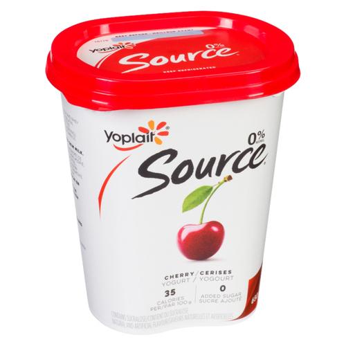 Yoplait Source Cherry Yogurt 650 g