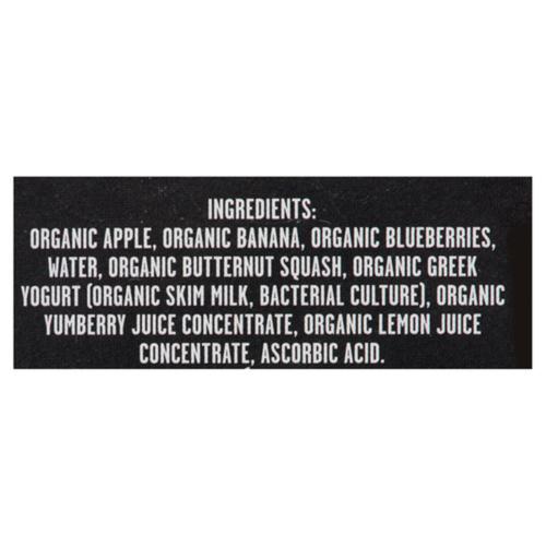 Baby Gourmet Organic Slammers Baby Snacks Chill'n Banana Berry 4 x 90 g