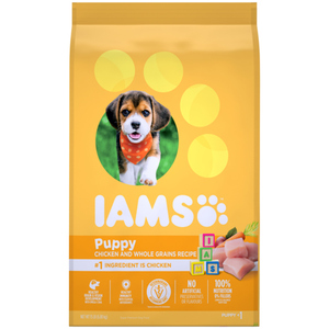 Iams Puppy Chicken and Whole Grains Dry Dog Food 6.8 kg
