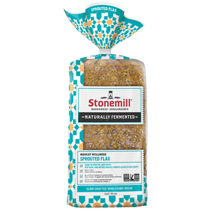 Stonemill Bakehouse Honest Wellness Sprouted Flax Bread 454 g
