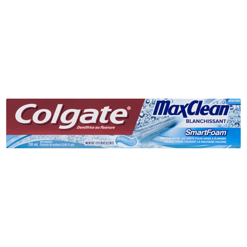 Colgate Max Clean Effervescent Mint Toothpaste 150 ml