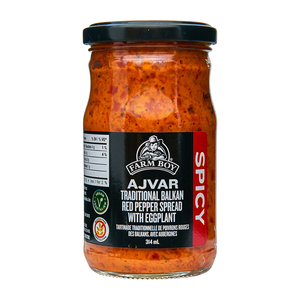 Farm Boy Ajvar Spread Spicy 314 ml