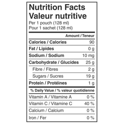 Nestle Gerber Organic Purée Banana & Squash 128 ml