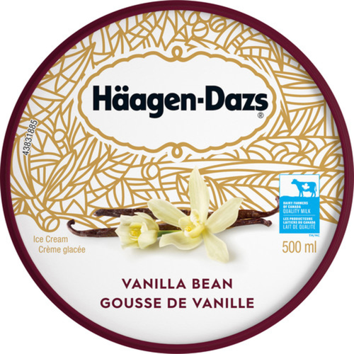 Häagen-Dazs Ice Cream Vanilla Bean 500 ml