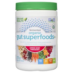 Genuine Health Organic Gut Superfoods+ Summer Berry Pomegrante 273 g