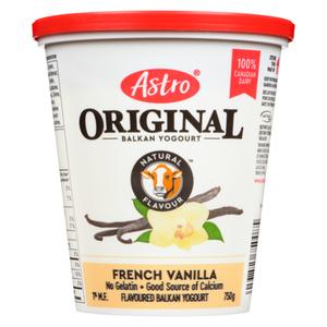 Astro French Vanilla Yogurt 750 g
