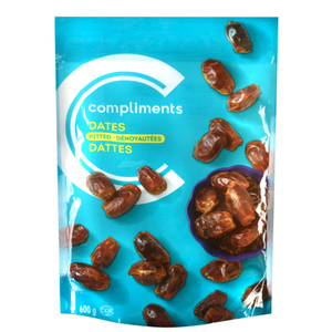 Compliments Dates Pitted 600 g