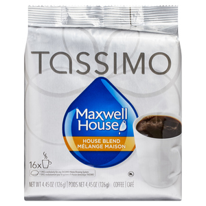 Tassimo Coffee Maxwell House Blend 16 T Discs 126 g