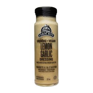 Farm Boy Organic Salad Dressing Lemon Garlic 237 ml