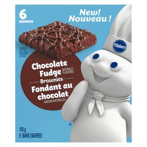 Pillsbury Brownie Soft Chocolate Fudge 150 g