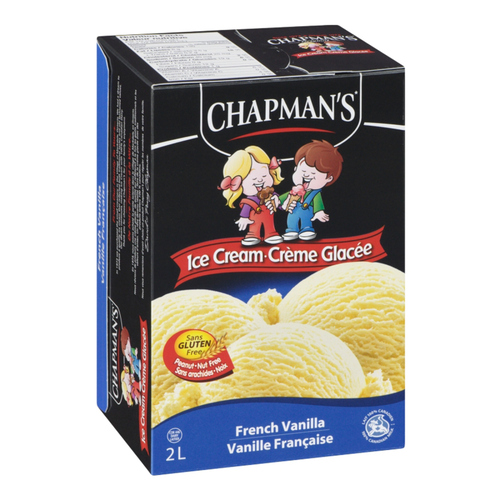 Chapman's Gluten Free Original French Vanilla Ice Cream 2 L