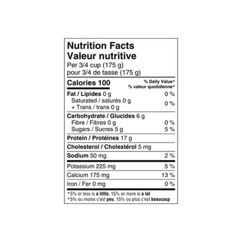 Oikos 0% Greek Yogurt Plain 750 g