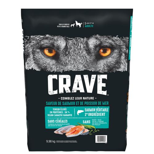 Crave Dog Food Dry Salmon & Ocean Fish 9.98 kg
