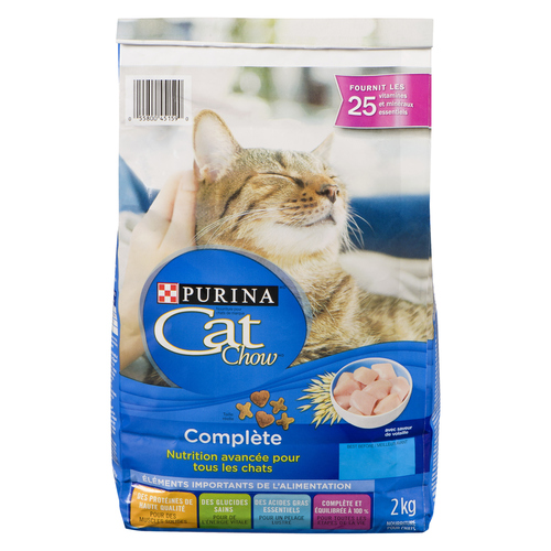 Cat Chow Complete Dry Cat Food, Advanced Nutrition for All Cats 2 kg