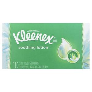 Kleenex Facial Tissues Soothing lotion 1 EA