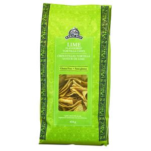 Farm Boy Tortilla Chips Lime 454 g