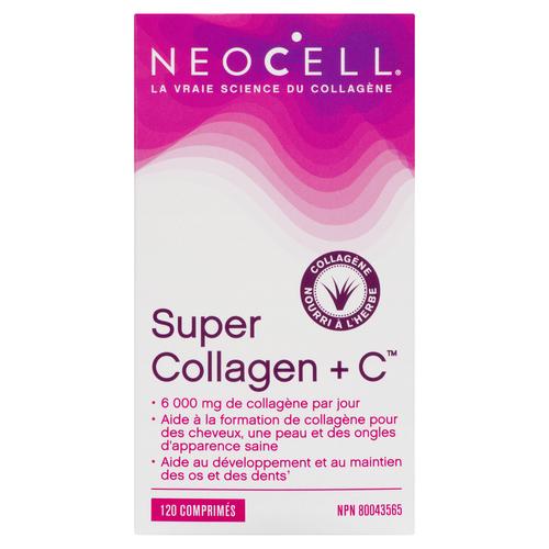 NeoCell Super Collagen +C Collagen Supplement 120 PK