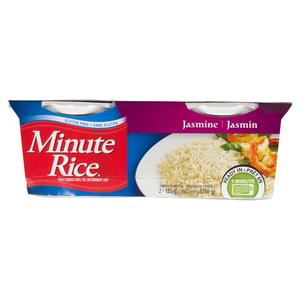 Minute Rice Jasmine Rice Ready To Serve 2 x 125 g