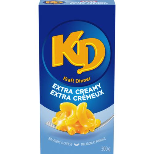 Kraft Dinner Macaroni & Cheese Extra Creamy 200 g
