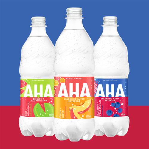 AHA Peach + Honey Sparkling Water 1 L