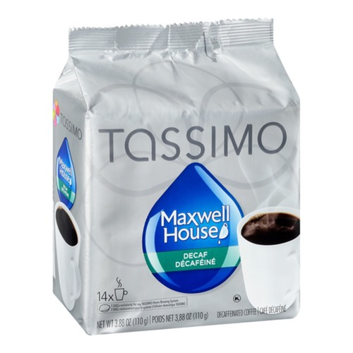 Tassimo Coffee Pods Maxwell House Decaf 14 PK