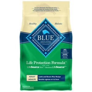 Blue Buffalo Life Protection, Lamb and Brown Rice 5-lb
