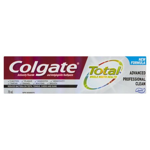 Colgate Total Advanced Professional Clean Toothpaste 70 ml