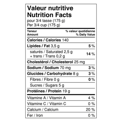 Liberté Skyr Plain 2% Yogurt 500 g