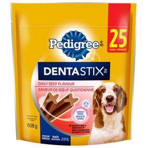 Pedigree Dentastix Oral Care Beef Medium Dog Treats 608 g