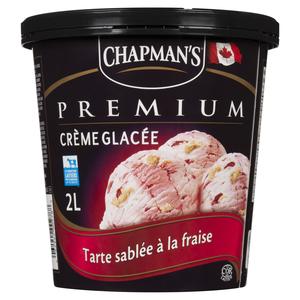 Chapman's Premium Strawberry Shortcake Ice Cream 2 L