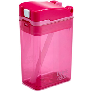 Drink in the Box Pink 8 oz 1 EA