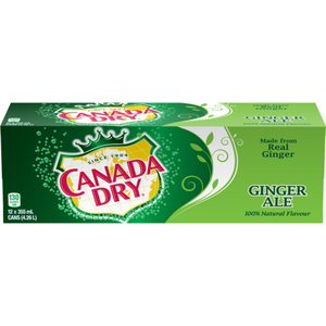 Canada Dry Ginger Ale Cans 12 x 355 mL