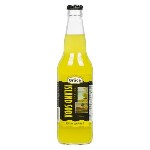 Grace Island Soda Pineapple Soft Drink 355 ml