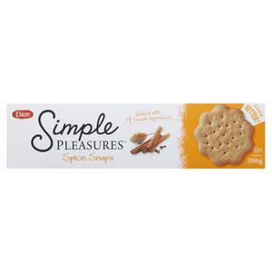 Dare Pleasures Cookies Spice Snap 350 g