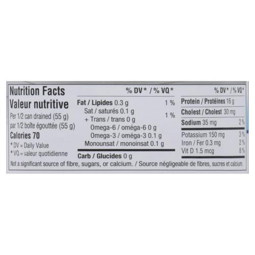 Clover Leaf Low Sodium Solid White Tuna 170 g