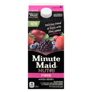 Minute Maid Nutri Fibre Mixed Berry Juice 1.75 L