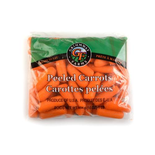 Mini Carrots Peeled 454 g