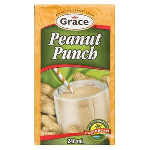 Grace Peanut Punch Beverage 240 ml