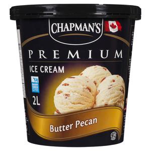 Chapman's Butter Pecan Ice Cream 2 L