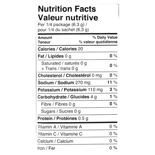 Club House Gluten-Free 25% Less Salt Brown Gravy 25 g