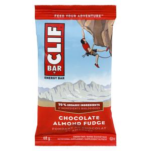 Clif Bar Energy Bar Chocolate Almond Fudge Flavour 68 g