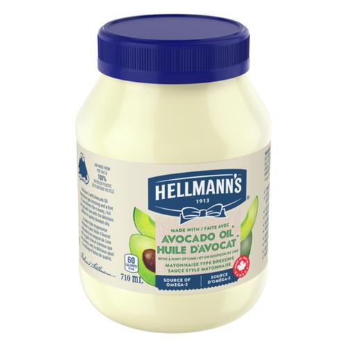 Hellmann's Mayonnaise Type Dressing Avocado Oil & Lime 710 ml