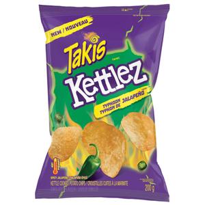 Takis Kettlez Potato Chips Typhoon Jalapeño 200 g