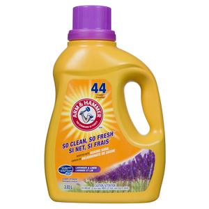 Arm & Hammer Liquid Laundry Detergent Lavender & Linen 44 Loads 2.03 L