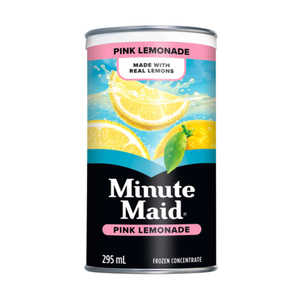 Minute Maid Pink Lemonade Frozen Concentrate 295 mL Can