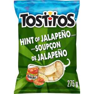 Tostitos Tortilla Chips Hint Of Jalapeno 275 g