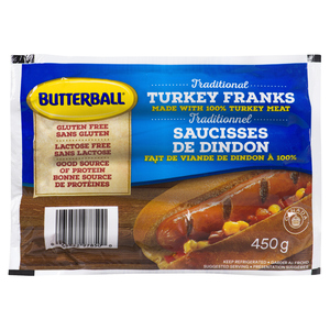 Butterball Turkey Franks 450 g