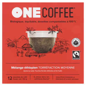One Coffee Ethiopian Coffee Cups 12s 132 g